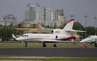 N192RS @ ORL - Falcon 50