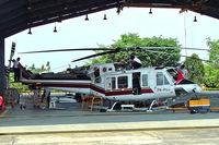 PK-PUJ @ WIIP - Bell 412EP [36282] (Pelita Air Service) Pondok Cabe~PK 25/10/2006