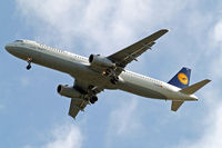 D-AISN @ EGLL - Airbus A321-231 [3592] (Lufthansa) Home~G 12/05/2013. On approach 27R. - by Ray Barber