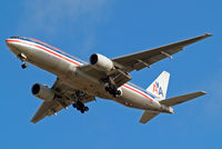 N779AN @ EGLL - Boeing 777-223ER [29955] (American Airlines) Home~G 14/02/2013. on approach 27R. Old scheme.