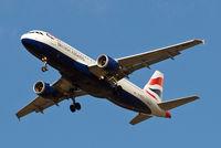 G-BUSJ @ EGLL - Airbus A320-111 [0109] (British Airways) Home~G 29/08/2009. On approach 27R.