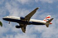 G-BUSJ @ EGLL - Airbus A320-111 [0109] (British Airways) Home~G 17/08/2009. On approach 27R.