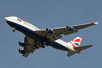 G-BNLX @ EGLL - Boeing 747-436 [25435] (British Airways) Home~G 13/03/2014. On approach 27R.