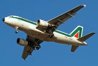 EI-IMI @ EGLL - Airbus A319-112 [1745] (Alitalia) Home~G 19/02/2013. On approach 27R.