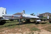 37 - Dassault Etendard IV.M, preserved at les amis de la 5ème escadre Museum, Orange - by Yves-Q
