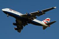 G-CIVX @ EGLL - Boeing 747-436 [28852] (British Airways) Home~G 31/01/2011. On approach 27R.