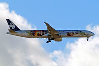 ZK-OKP @ EGLL - Boeing 777-319ER [39041] (Air New Zealand) Home~G 05/02/2013. On approach 27L.