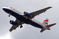 G-EUUN @ EGLL - Airbus A320-232 [1910] (British Airways) Home~G 29/08/2009. On approach 27R.