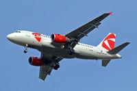 OK-NEN @ EGLL - Airbus A319-112 [3436] (CSA Czech Airlines) Home~G 01/02/2010. On approach 27R.