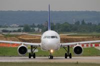 F-HBEV @ LFPO - Airbus A320-214, Lining up prior take off rwy 08, Paris-Orly airport (LFPO-ORY) - by Yves-Q