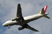D-AKNM @ EGLL - Airbus A319-112 [1089] (Germanwings) Home~G 09/10/2014. On approach 27R. - by Ray Barber