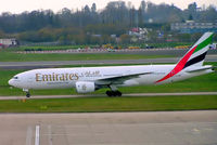 A6-EMF @ EGBB - Boeing 777-21H [27249] (Emirates Airlines) Birmingham Int'l~G 16/11/2004 - by Ray Barber
