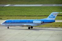 PH-KZH @ EGBB - Fokker F-70 [11583] (KLM cityhopper) Birmingham Int'l~G 19/11/2004 - by Ray Barber