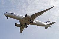 OH-LWB @ EGLL - Airbus A350-941 [019] (Finnair) Home~G 22/05/2016. On approach 27R.