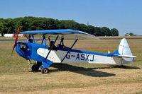G-ASXJ @ EGBP - Luton LA-4A Minor [PFA 801] Kemble~G 13/07/2003 - by Ray Barber