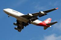 VH-OJL @ EGLL - Boeing 747-438 [25151] (QANTAS) Home~G 01/10/2009. On approach 27R.