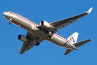 N379AA @ EGLL - Boeing 767- 323ER [25448] (American Airlines) Home~G 06/12/2014. On approach 27R.