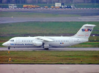 OO-DWJ @ EGBB - BAe 146-RJ100 [E3355] (SN Brussels Airlines) Birmingham Int'l~G 19/12/2006 - by Ray Barber