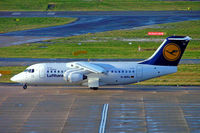 D-AVRJ @ EGBB - BAe 146-RJ85 [E2277] (Lufthansa Regional) Birmingham Int'l~G 24/01/2007 - by Ray Barber