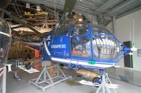 2009 @ LFPB - Sud Aviation SA-319B Alouette III, Exibited at Air & Space Museum Paris-Le Bourget (LFPB) - by Yves-Q