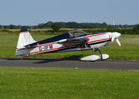 G-IIFM @ EGBG - Zivko Edge 360 at Leicester Airport. Ex N37TP - by moxy