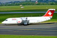HB-IXX @ EDDL - BAe 146RJ-100 [E3262] (Swiss European Air Lines) Dusseldorf~D 18/05/2006