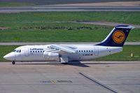 D-AVRG @ EGBB - BAe 146-RJ85 [E2266] (Lufthansa Regional) Birmingham Int'l~G 17/05/2005 - by Ray Barber