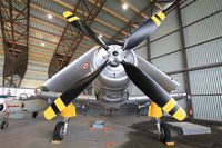 126979 @ LFPB - Douglas AD-4N Skyraider, Exibited at Air & Space Museum Paris-Le Bourget (LFPB) - by Yves-Q
