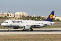 D-AIZA @ LMML - A320 D-AIZA Lufthansa - by Raymond Zammit