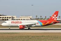 9H-AEQ @ LMML - A320 9H-AEQ Air Malta - by Raymond Zammit