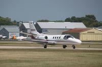 N361DE @ KOSH - Cessna 501
