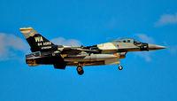 86-0280 @ KLSV - F-16C 86-0280 64th Aggressor Squadron (64 AGRS) - Red Flag 16-3 Las Vegas - Nellis AFB (LSV / KLSV) TDelCoro July 19, 2016 - by Tomás Del Coro