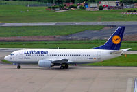 D-ABXZ @ EGBB - Boeing 737-330 [24564] (Lufthansa) Birmingham Int'l~G 17/05/2005 - by Ray Barber
