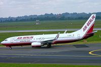 D-ABBQ @ EDDL - Boeing 737-86N [28608] (Air Berlin) Dusseldorf~D 18/05/2006 - by Ray Barber