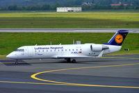D-ACLJ @ EDDL - Canadair CRJ-100LR [7021] (Lufthansa Regional) Dusseldorf~D 18/05/2006 - by Ray Barber