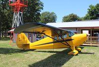 N33712 @ KOSH - Aeronca 65-CA - by Mark Pasqualino