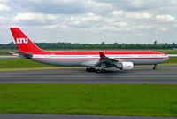 D-AERQ @ EDDL - Airbus A330-322 [127] (LTU) Dusseldorf~D 18/05/2006 - by Ray Barber