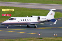 D-CDNY @ EDDL - Learjet 60 [60-160] (Daimler-Chrysler) Dusseldorf~D 18/05/2006 - by Ray Barber