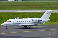 D-AUKE @ EDDL - Canadair CL.604 Challenger [5389] (Challenge Air) Dusseldorf~D 18/05/2006 - by Ray Barber