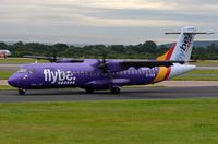 EI-REM @ EGCC - Recent addition to Flybe's fleet is this ATR72 operated by Stobart Air. - by FerryPNL