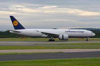 D-ALFD @ EGCC - Lufthansa Cargo B772F - by FerryPNL