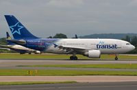 C-GTSW @ EGCC - One of the few A310 still operated commercially , this one by AirTransat. - by FerryPNL