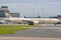 A6-ETJ @ EGCC - Etihad B773 ready to depart. - by FerryPNL