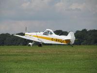 G-BHUU @ EGTB - real glider tug - by magnaman