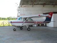 G-BNSN @ EGLD - at denham - by magnaman