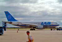 CP-2232 @ SLVR - Airbus A310-307 [562] (Lloyd Aereo Boliviano) Santa Cruz-Viru Viru Int'l~CP 09/04/2003 - by Ray Barber
