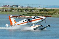 C-FCKW @ YVR - Landing on the Fraser River - by metricbolt