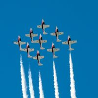 114033 @ CYND - #1 Leading the Formation - by Dirk Fierens