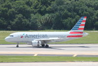 N725UW @ KTPA - American Flight 1902 (N725UW) arrives at Tampa International Airport following flight from Reagan National Airport - by Donten Photography