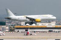 EC-KRH @ LEBL - About to land in Barcelona - by James Abbott